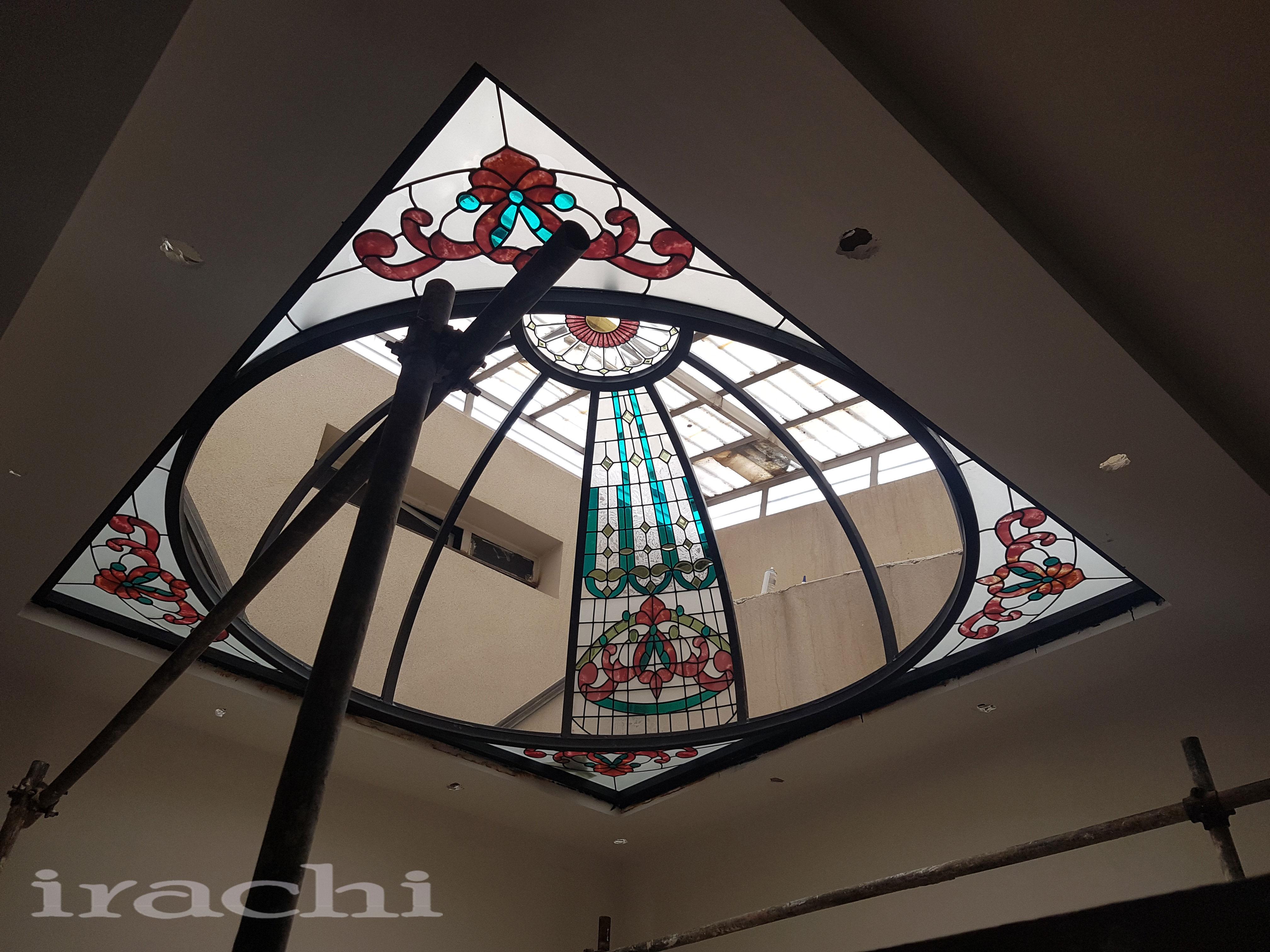 گنبد شیشه ای استین گلاس در شرکت مهراز