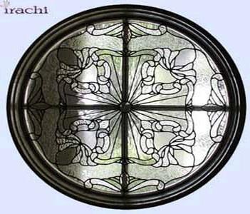 شیشه-تزیینی-پنجره-طرح-ویکتوریا