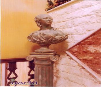 مجسمه سردیس پتینه و کهنه کاری شده