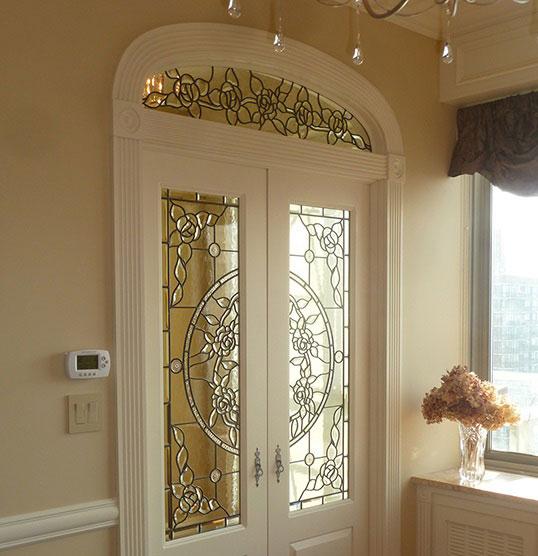 درب های لابی استین گلاس و درب های ورودی استین گلاس