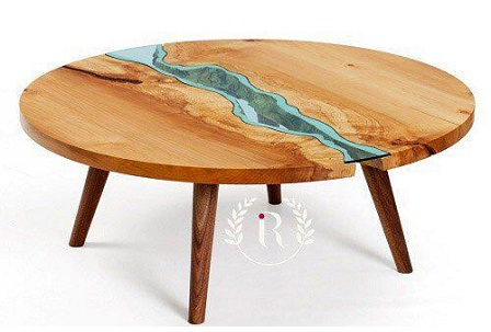 میز چوبی دکوراتیو