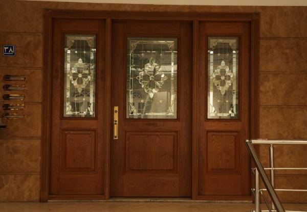 انواع درب ورودی ساختمان