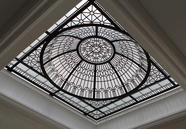 نورگیر های سقفی شیشه ای