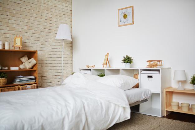 بزرگتر نشان دادن فضای اتاق خواب