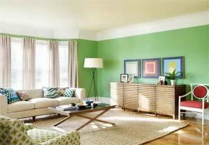 شاد تر کردن خانه با رنگ ها