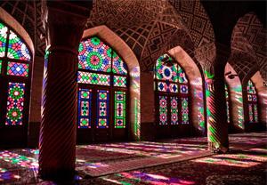 تاثیر نور در معماری ایرانی