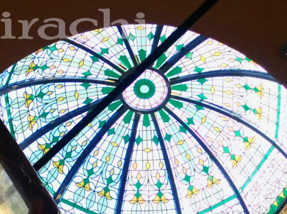 گنبد شیشه ای استین گلاس در زاهدان