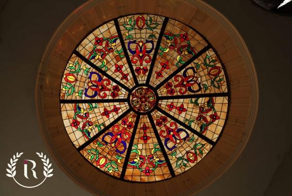 گنبد شیشه ای استین گلاس
