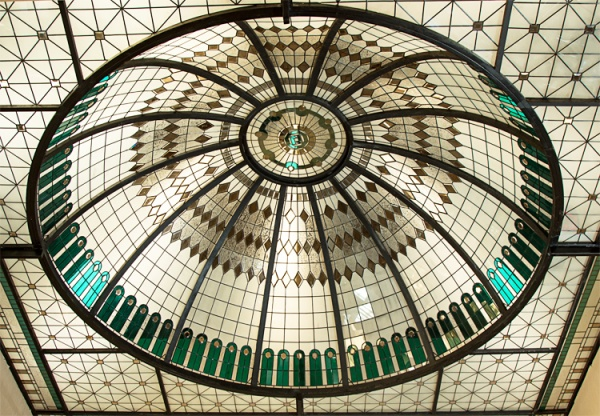 گنبد شیشه ای استین گلس